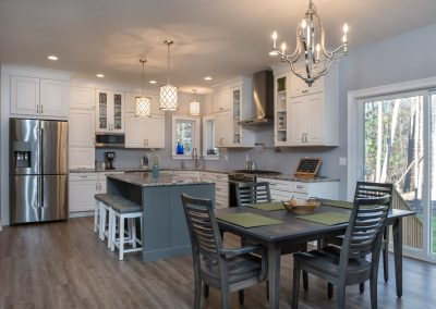 New Construction - Dining + Kitchen